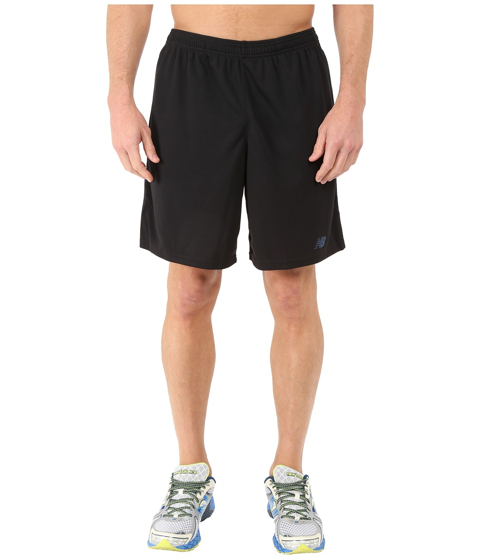 New Balance - Novelty Knit Shorts (Black/Grey) Men's Shorts