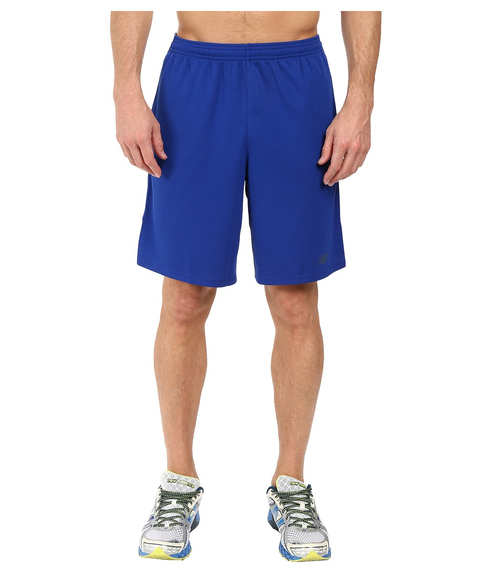 New Balance - Novelty Knit Shorts (Marine Blue) Men's Shorts