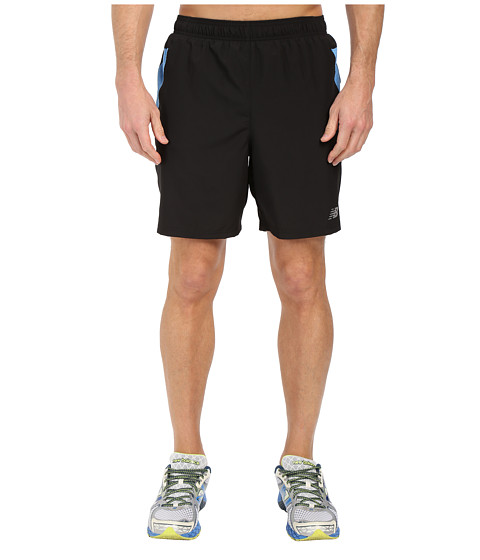 New Balance - 7 Woven Run Shorts (Electric Blue) Men's Shorts