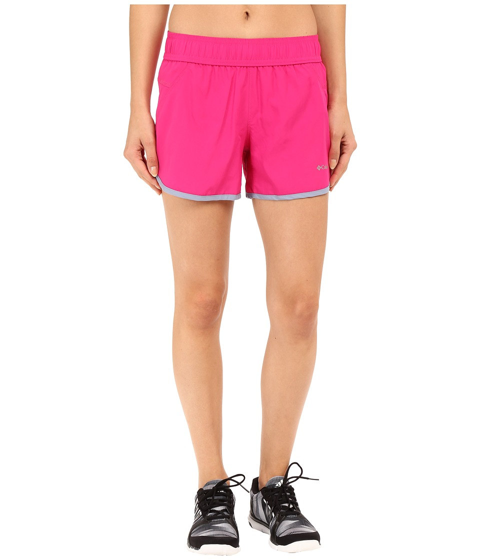 Columbia - In The Dust Shorts (Haute Pink/Beacon Binding) Women's Shorts