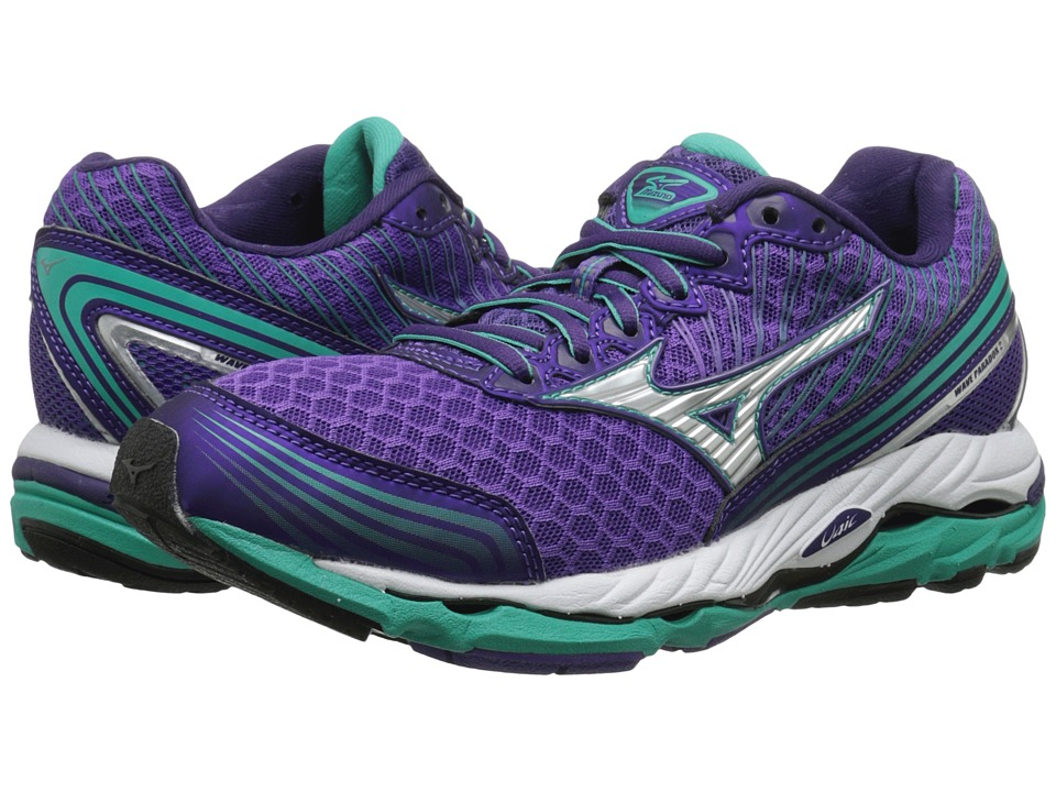 Mizuno - Wave Paradox 2 (Royal Purple/Silver/Atlantis) Women's Running Shoes