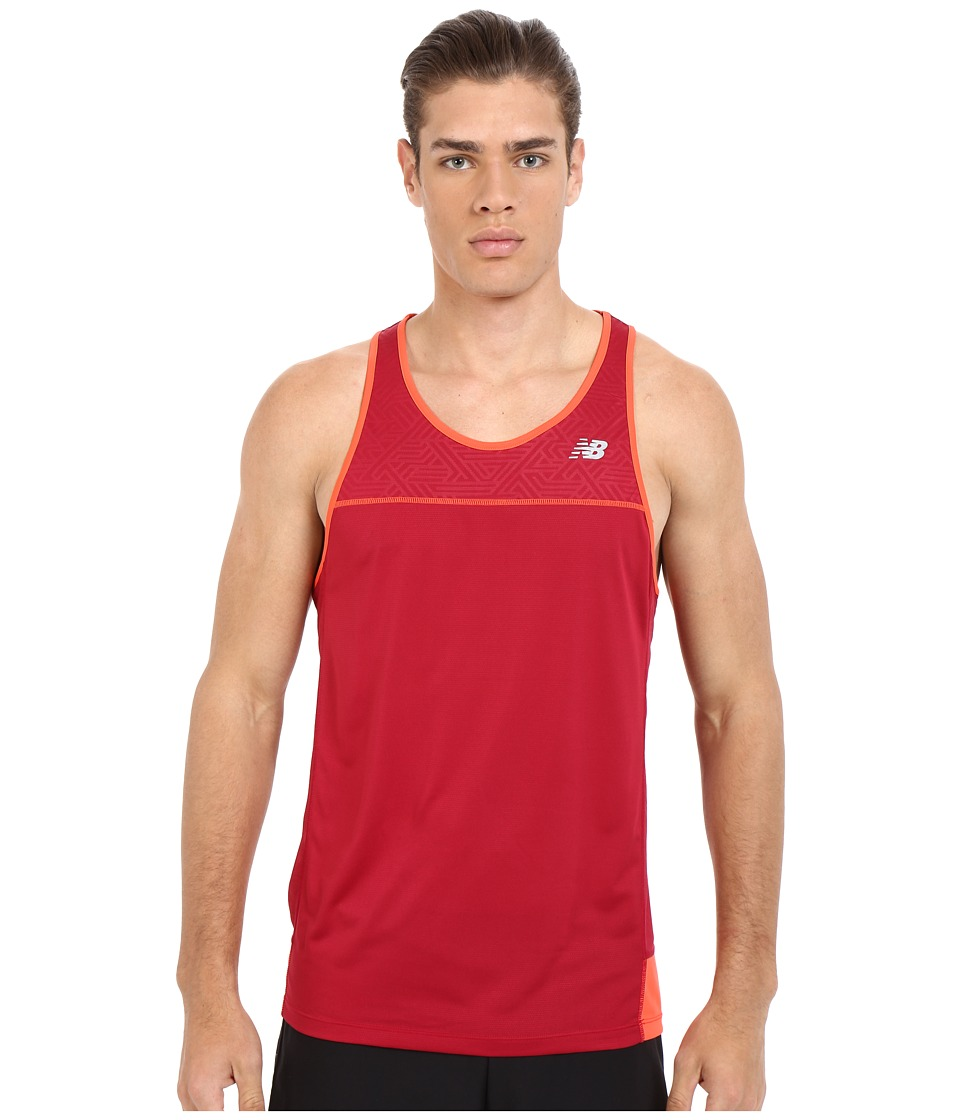 New Balance - Tech Run Singlet (Horizon) Men's Workout
