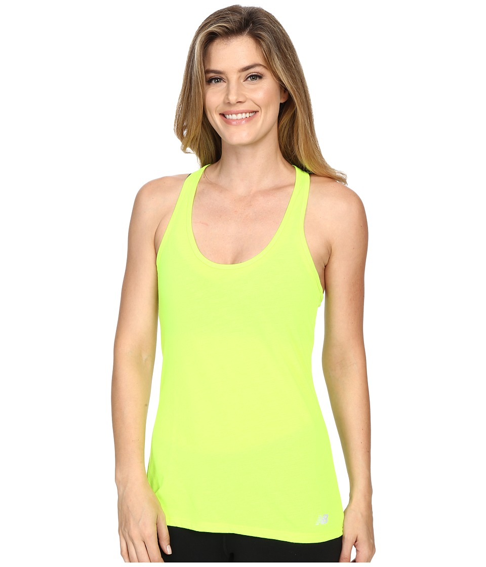 New Balance - Tank Top (Toxic) Women's Sleeveless