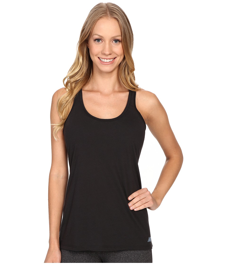 New Balance - Tank Top (Black) Women's Sleeveless