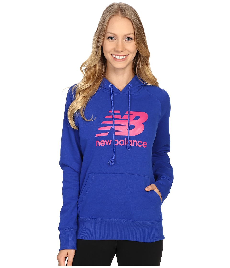 New Balance - Essentials Hoodie (Pacific) Women's Sweatshirt