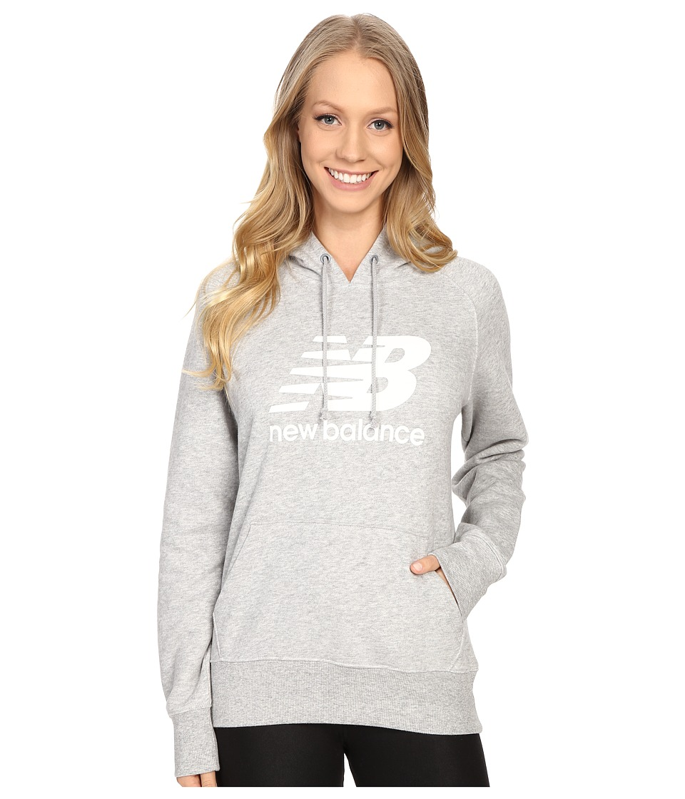New Balance - Essentials Hoodie (Athletic Grey) Women's Sweatshirt