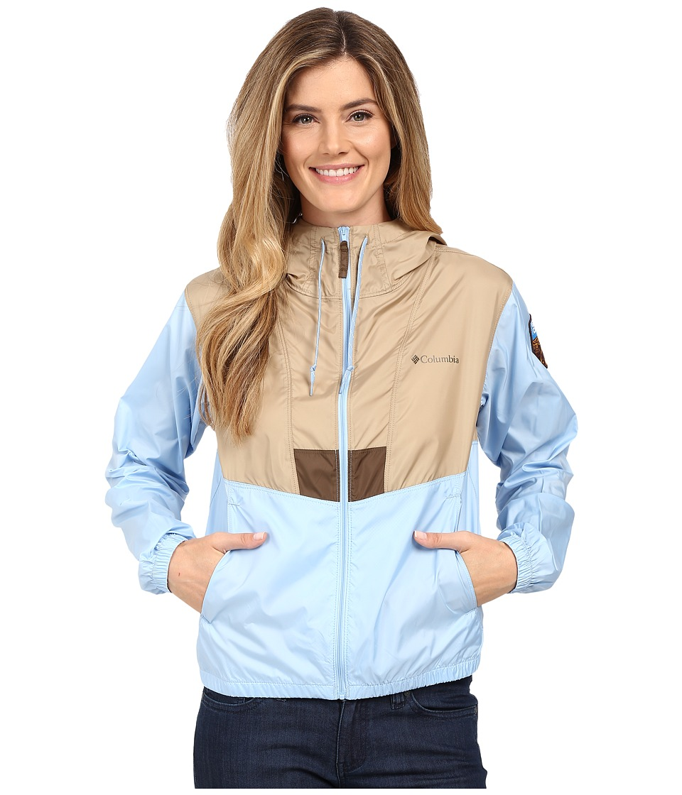 Columbia - Flashback Windbreaker Park Edition (British Tan/Air/Grand Canyon) Women's Coat
