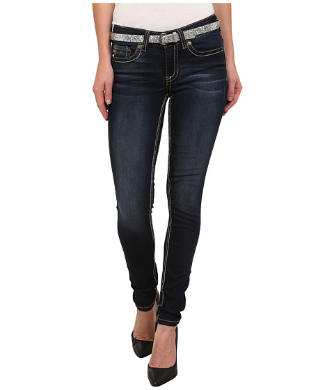U.S. POLO ASSN. - Super Skinny Lara Jeans in Super Dark Indigo (Super Dark Indigo) Women