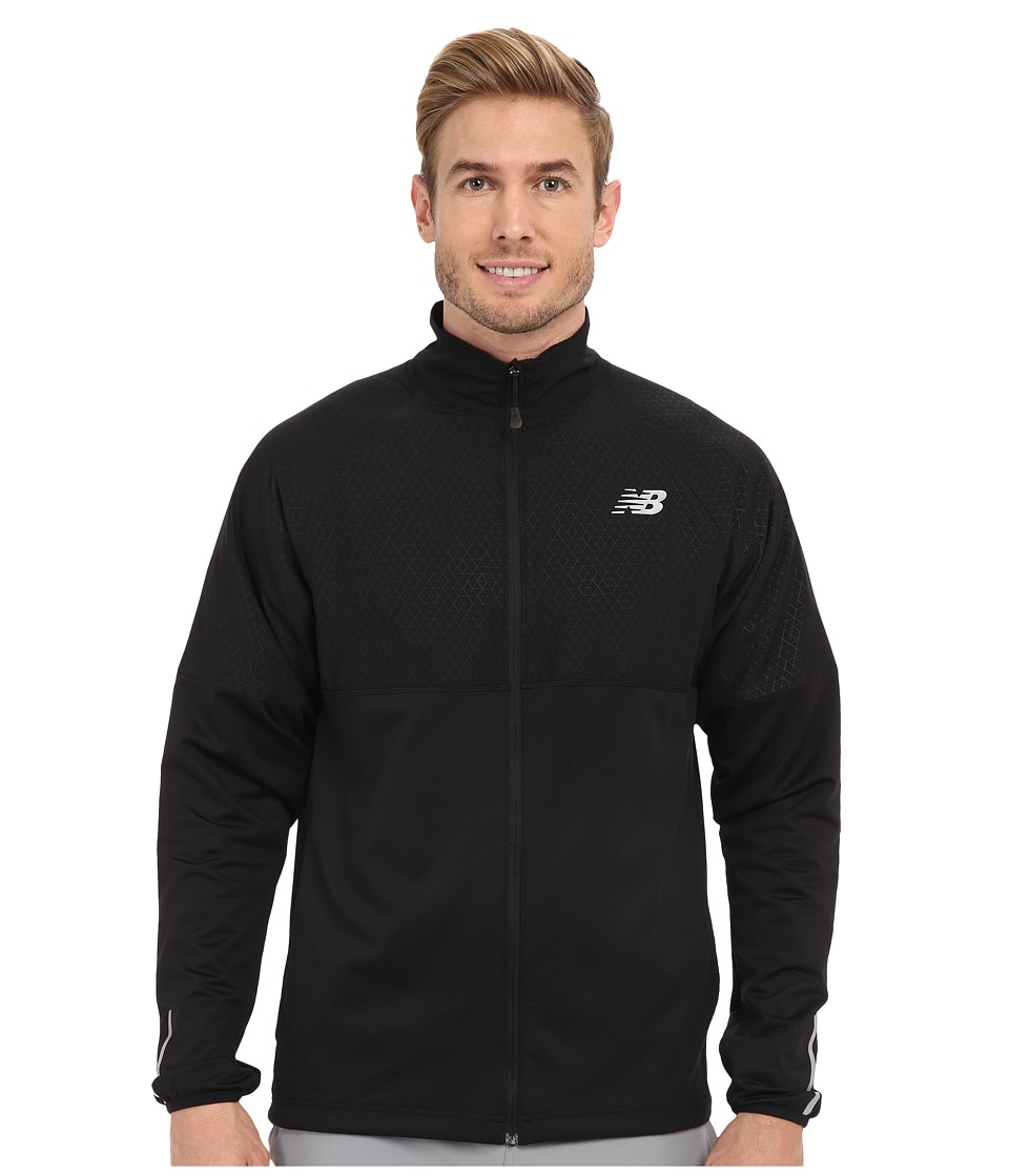 New Balance - Speed Jacket (Black) Men's Coat