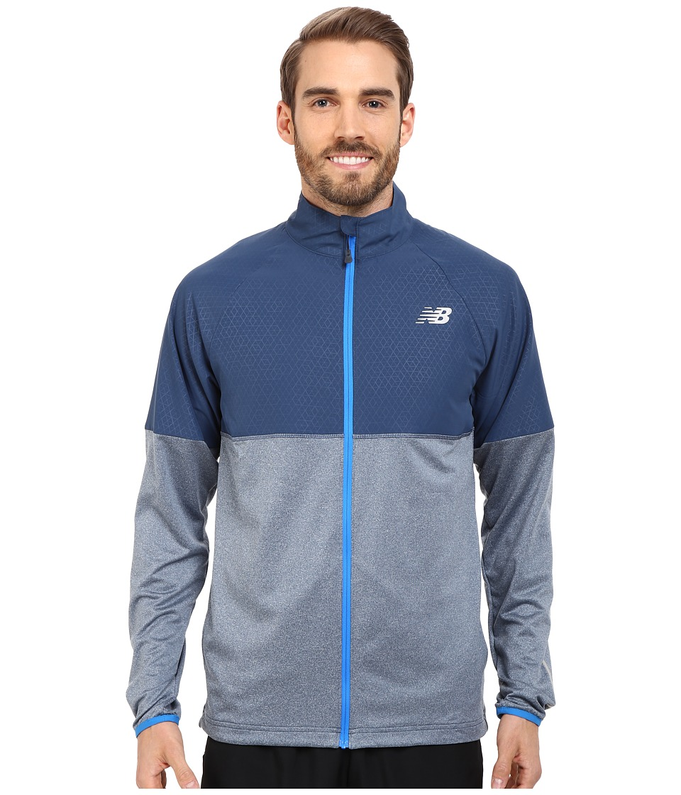 New Balance - Speed Jacket (Electric Blue) Men's Coat