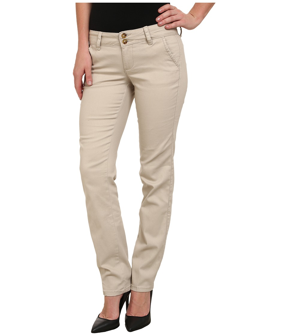 U.S. POLO ASSN. - Stretch Twill Bree Pants (Stone Pebble) Women's Casual Pants