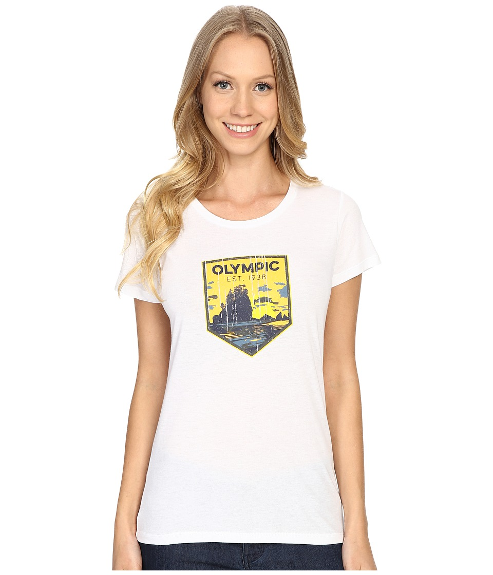 Columbia - National Parks Tee (White/Olympic) Women's T Shirt