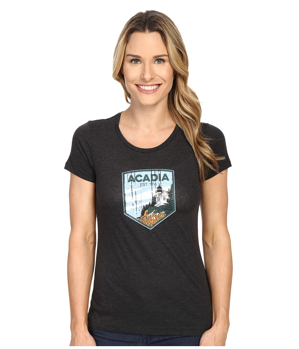 Columbia - National Parks Tee (Grey Heather/Acadia) Women's T Shirt