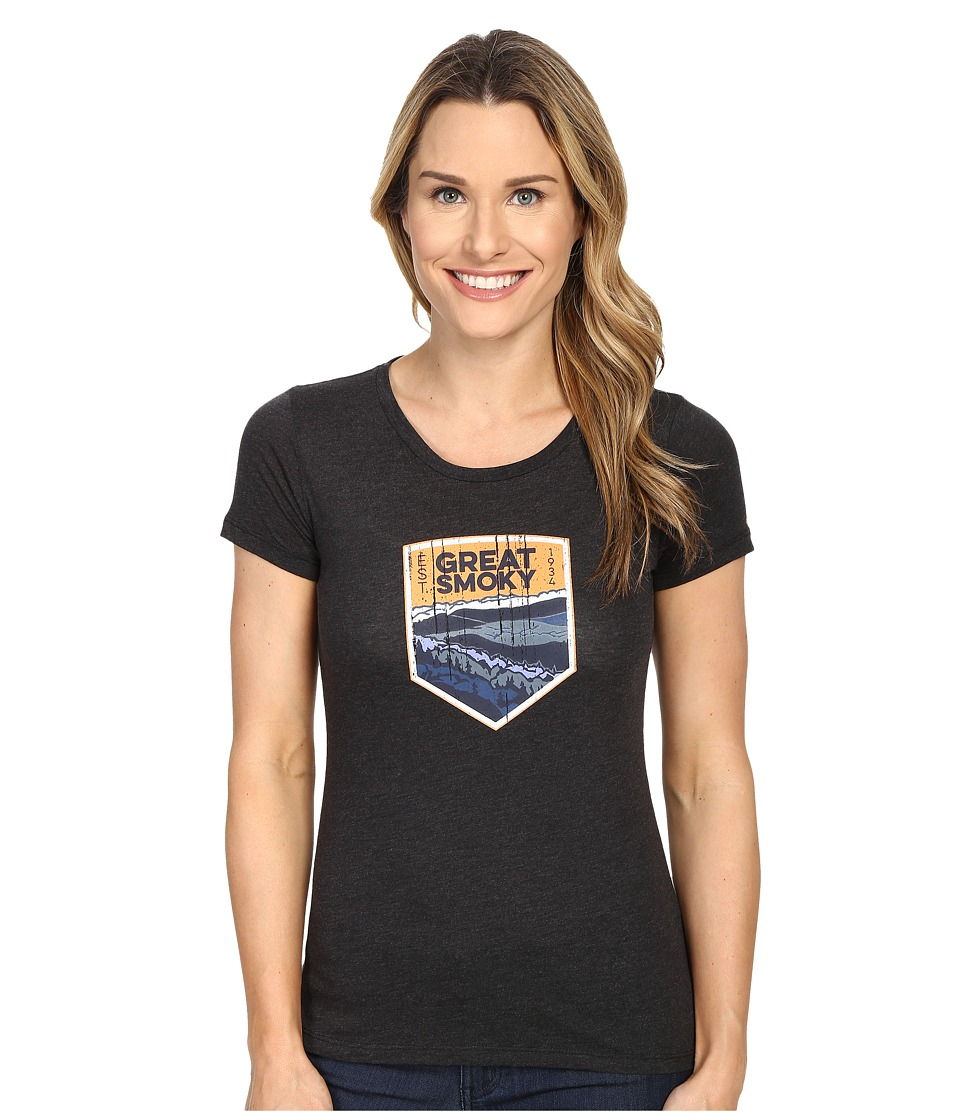 Columbia - National Parks Tee (Grey Heather/Grey Smoky) Women's T Shirt