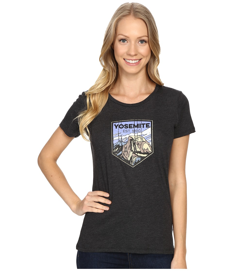 Columbia - National Parks Tee (Grey Heather/Yosemite) Women's T Shirt
