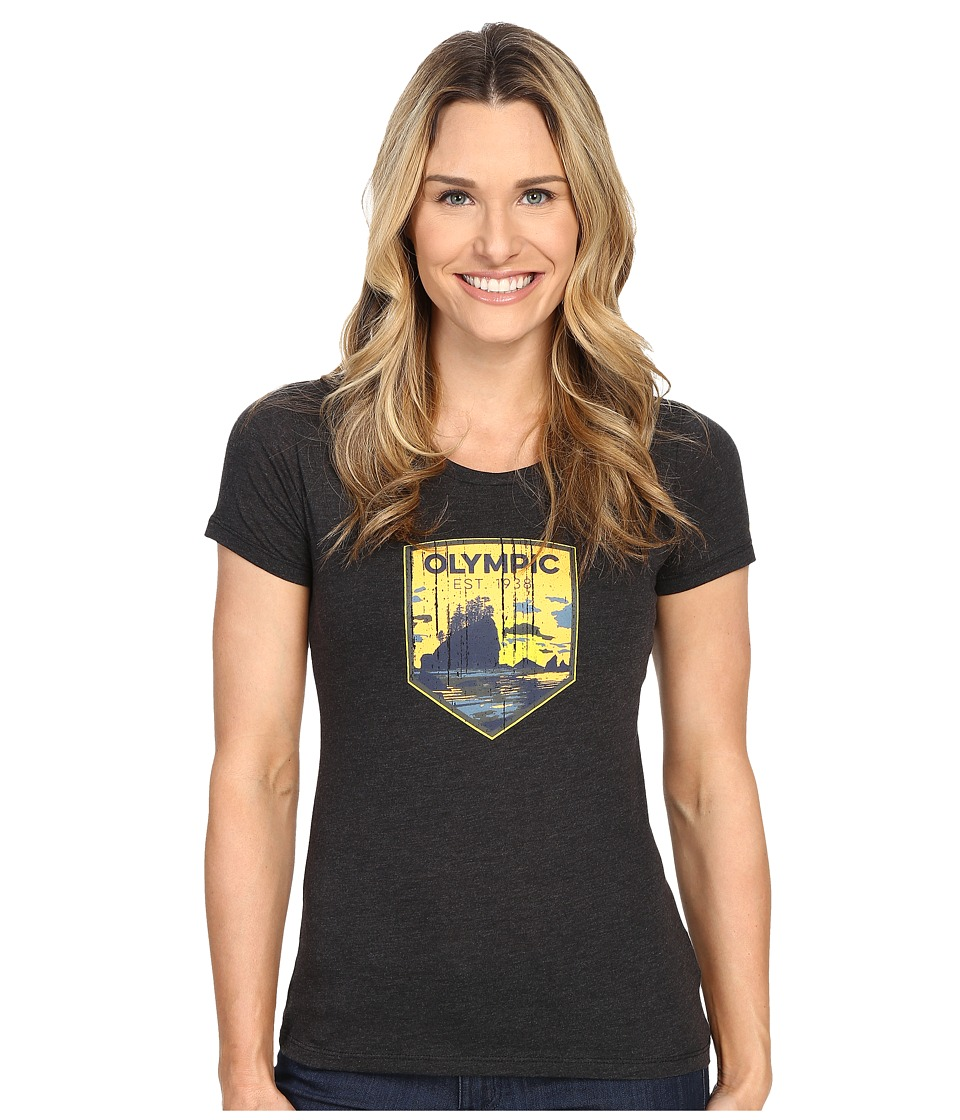 Columbia - National Parks Tee (Grey Heather/Olympic) Women's T Shirt