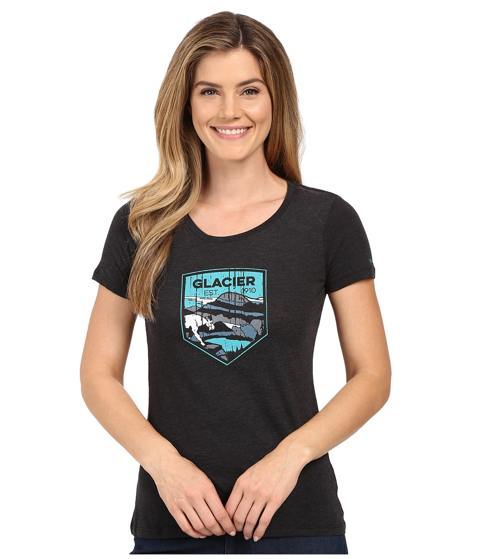 Columbia - National Parks Tee (Grey Heather/Glacier) Women's T Shirt