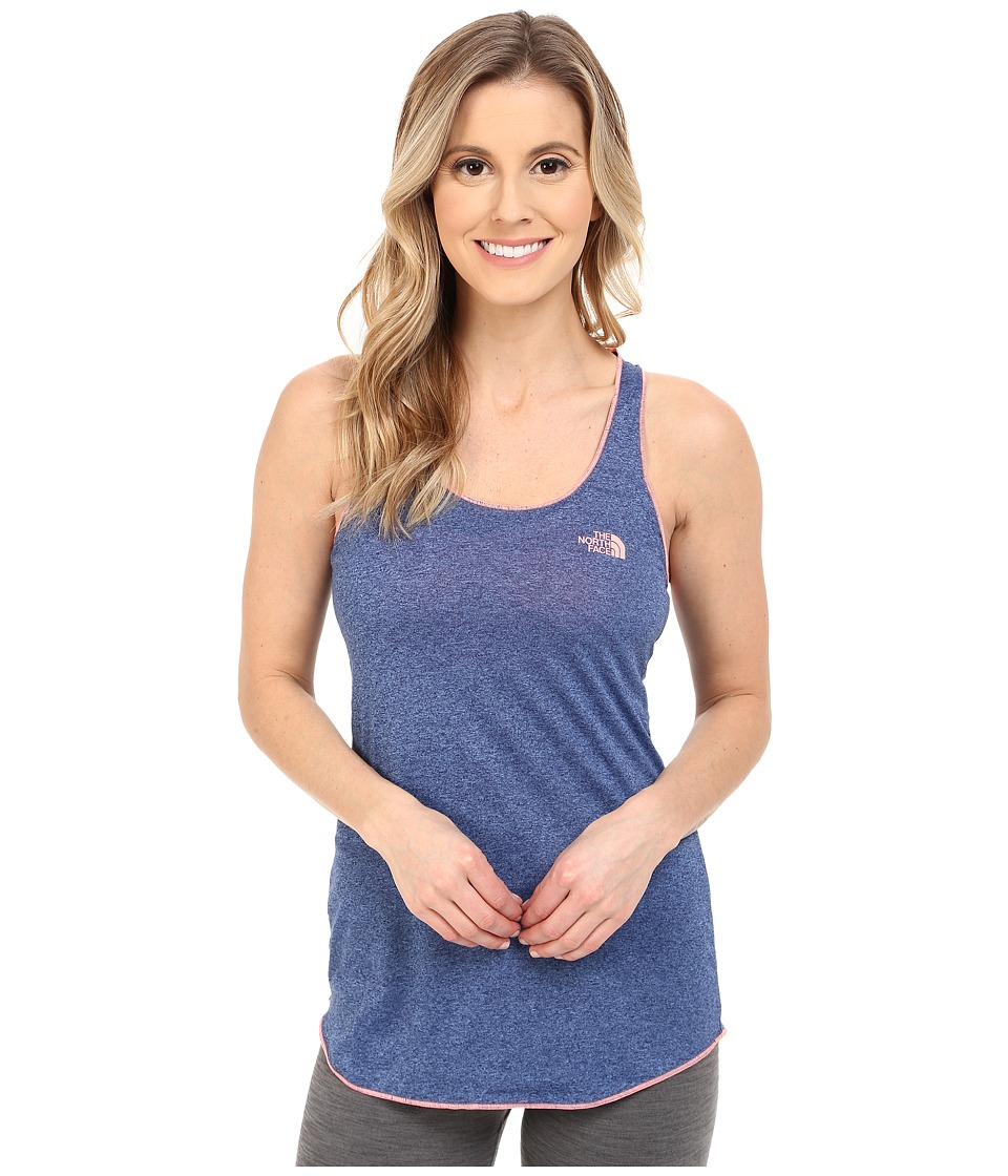 The North Face - Play Hard Tank Top (Patriot Blue Heather) Women's Sleeveless