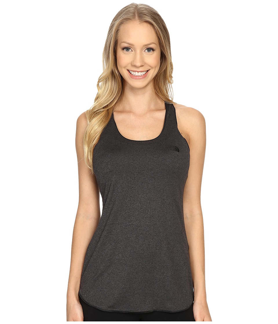 The North Face - Play Hard Tank Top (TNF Dark Grey Heather) Women's Sleeveless
