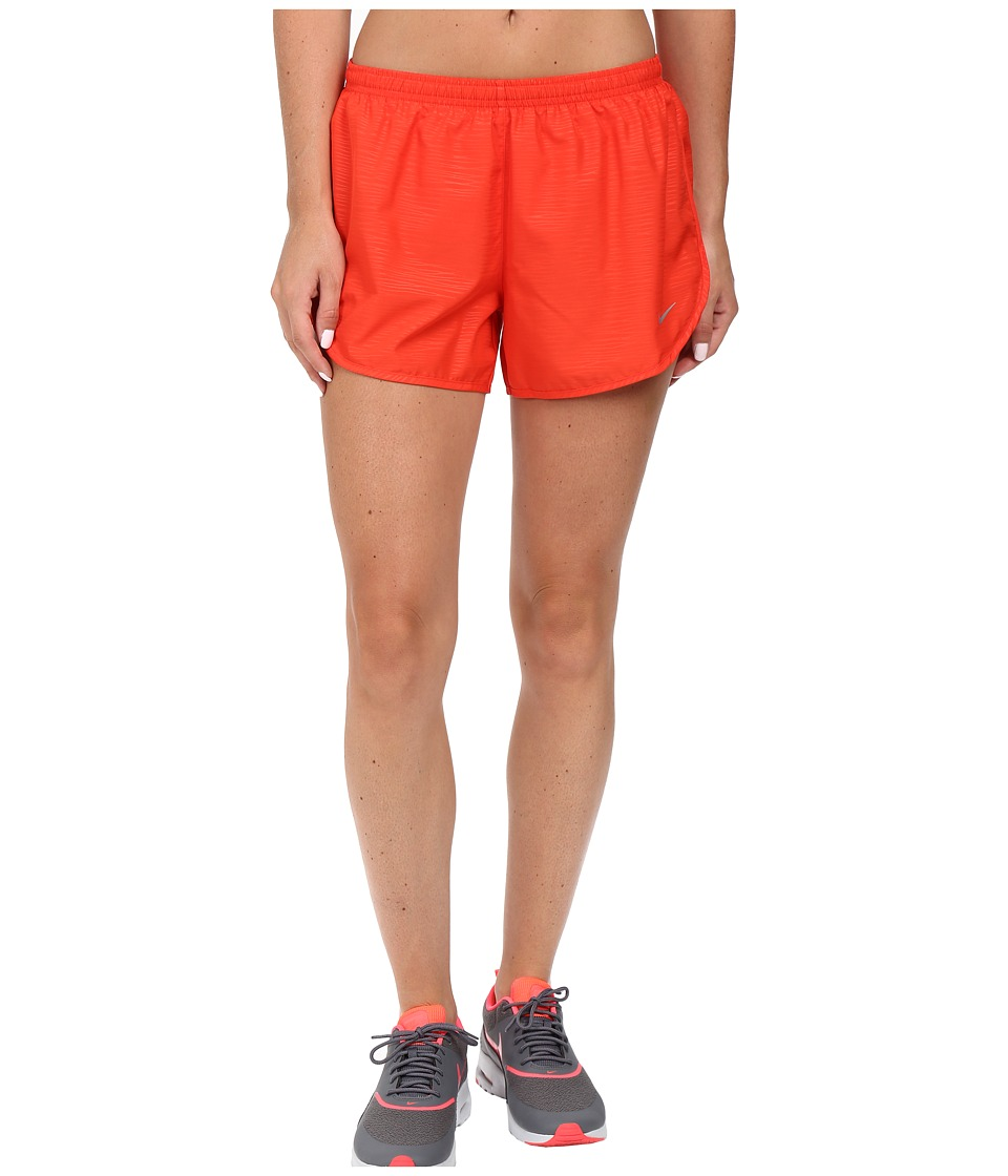 Nike 3 Tempo Modern Embossed Running Short (Light Crimson/Reflective Silver) Women