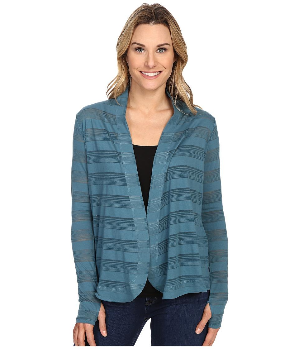 Columbia - Inner Luminosity Wrap (Cloudburst) Women's Long Sleeve Pullover