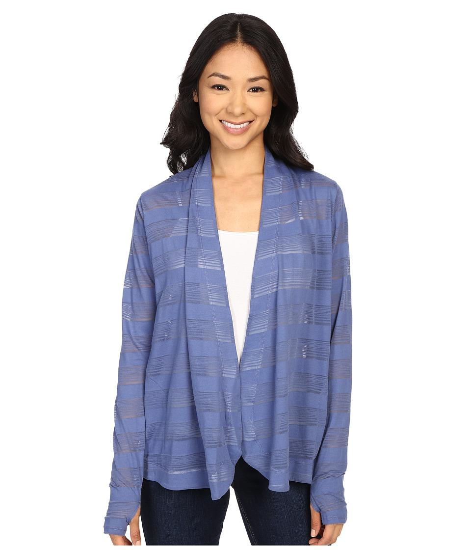 Columbia - Inner Luminosity Wrap (Bluebell) Women's Long Sleeve Pullover