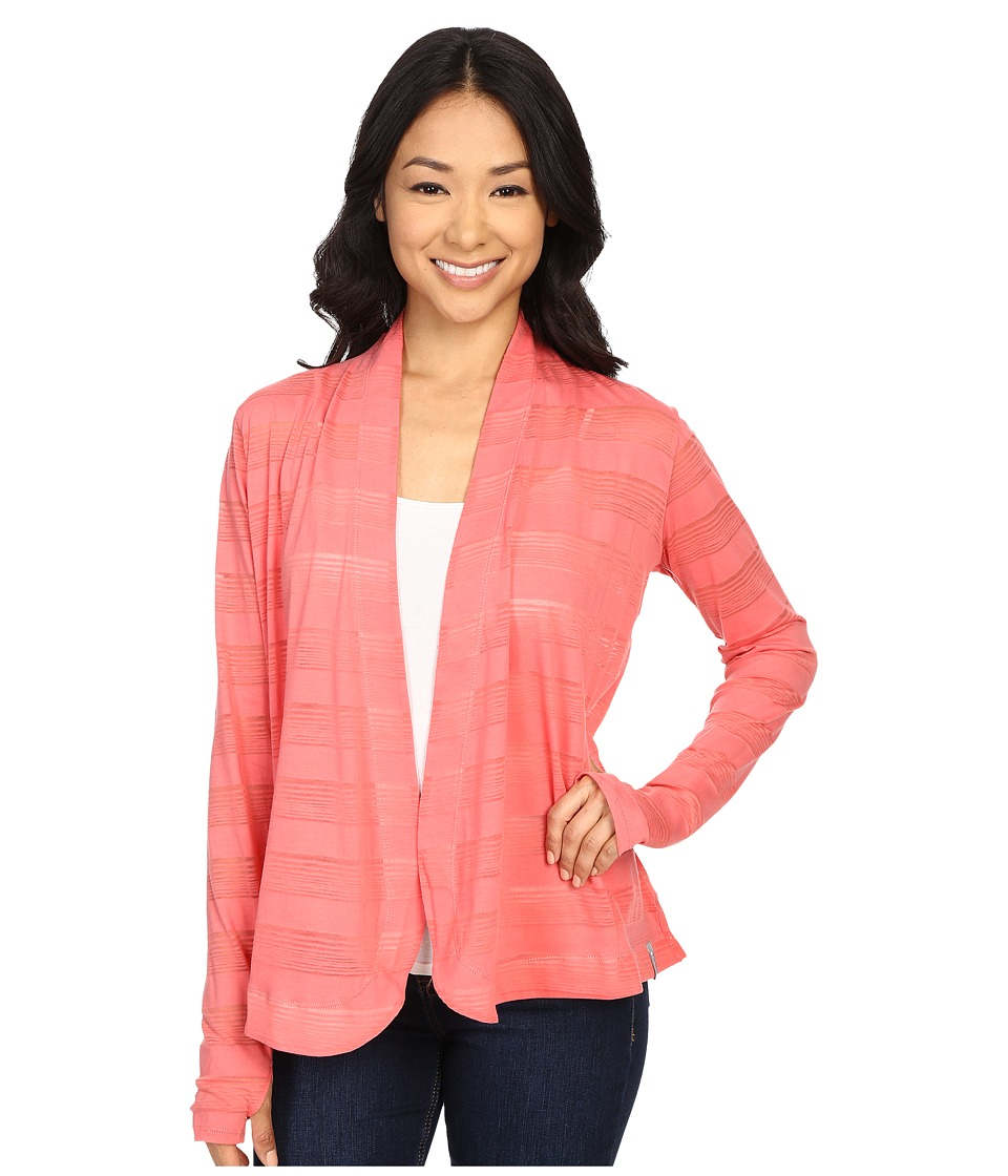 Columbia - Inner Luminosity Wrap (Coral Bloom) Women's Long Sleeve Pullover