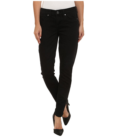 Seven7 Jeans - Five-Pocket Knit Denim Leggings in Black (Black) Women's Jeans