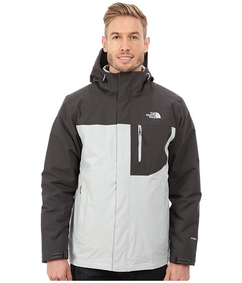 The North Face - Carto Triclimate Jacket (High Rise Grey/Asphalt Grey) Men
