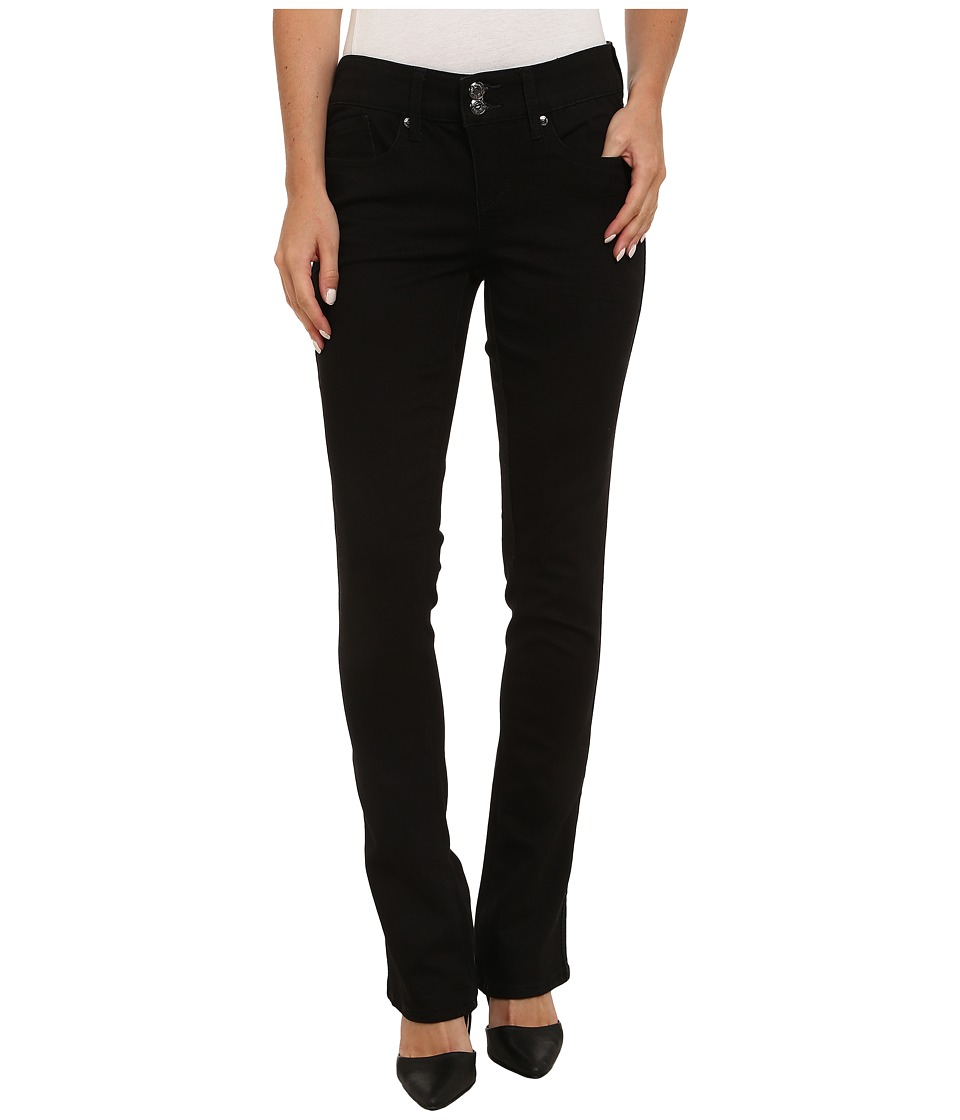 Seven7 Jeans - Two Button Slim Rocker Pants (Opal Black) Women