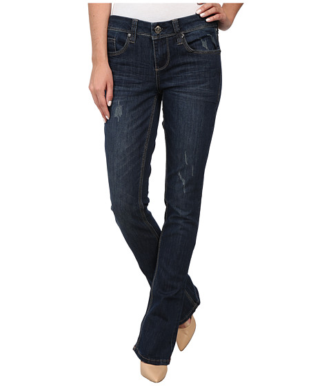 Seven7 Jeans - Rocker Slim Pants (Cyan Blue) Women's Jeans