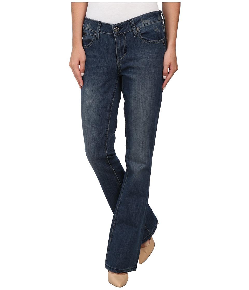 Seven7 Jeans - Slim Zip Coin Jeans in Najara Blue (Najara Blue) Women