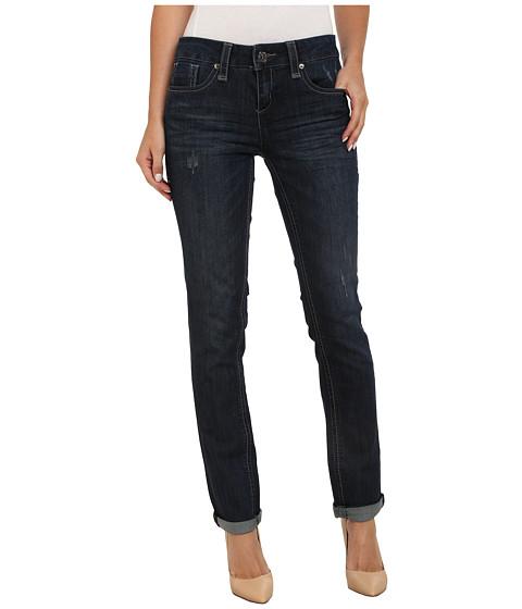Seven7 Jeans - Rolled Slim Studded Pants (Cyan Blue) Women