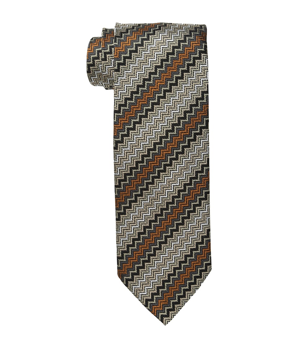 Missoni - CRB8SEU5061 (Taupe/Copper) Ties