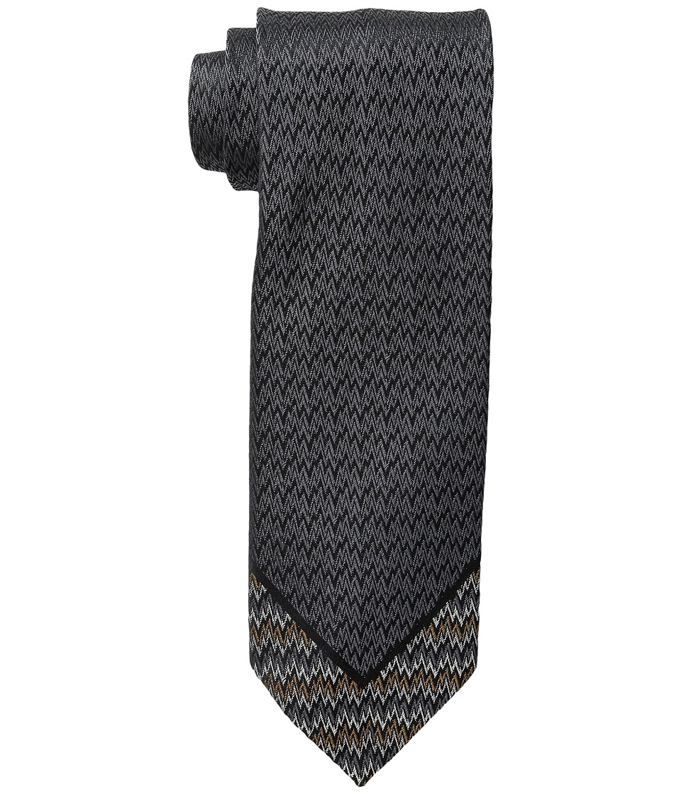 Missoni - CRB8SEU5126 (Grey/Taupe) Ties