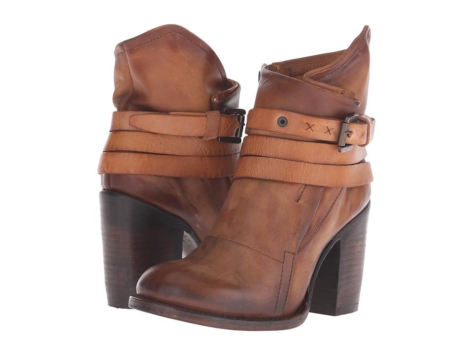 Freebird - Blaze (Cognac) Women's Zip Boots