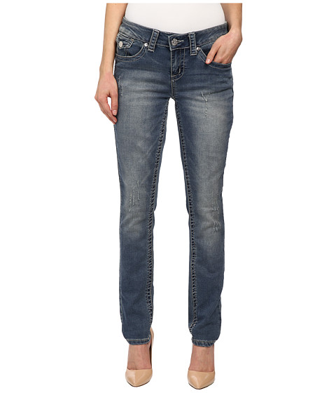 Seven7 Jeans - Skinny Jeans with Button Flap in Metz (Metz) Women
