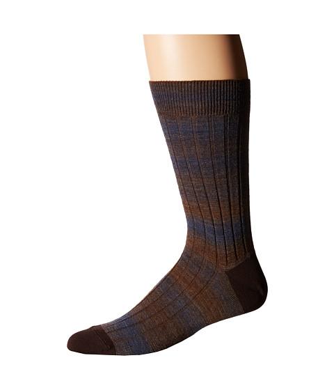 Missoni - CA00WMU5247 (Brown) Men's Crew Cut Socks Shoes
