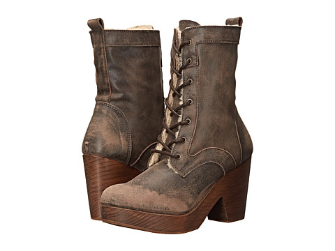 Freebird - Fiona (Brown) Women's Lace-up Boots