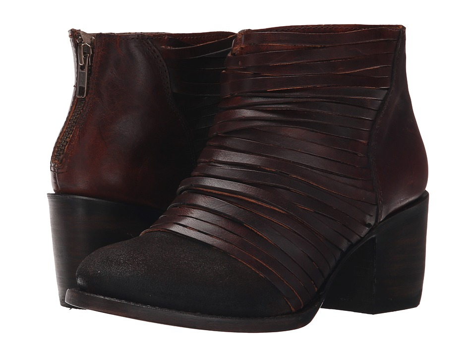 Freebird - Cain (Brown) Women's Zip Boots
