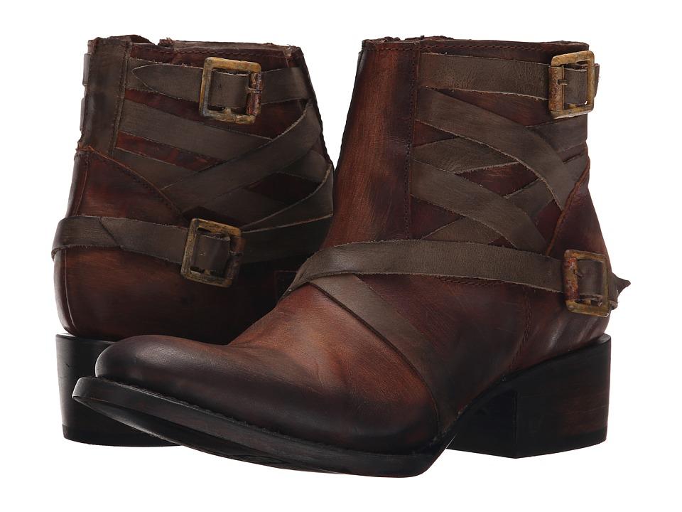 Freebird - Sammi (Cognac) Women's Zip Boots