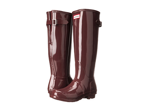 Hunter - Original Back Adjustable Gloss (Umber) Women