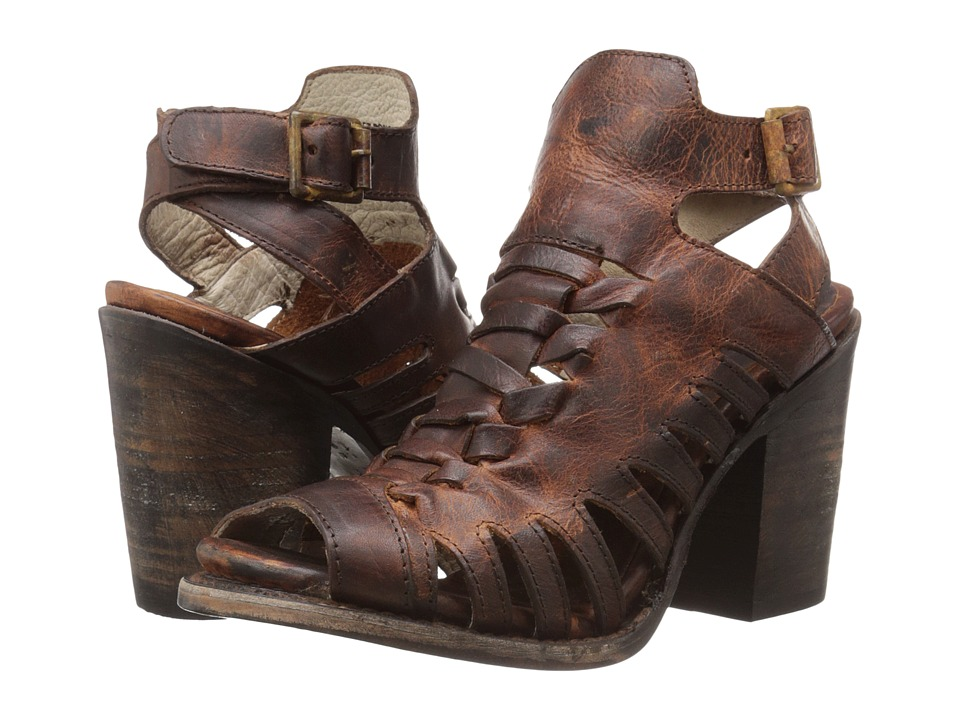 Freebird - Bongo (Cognac) High Heels