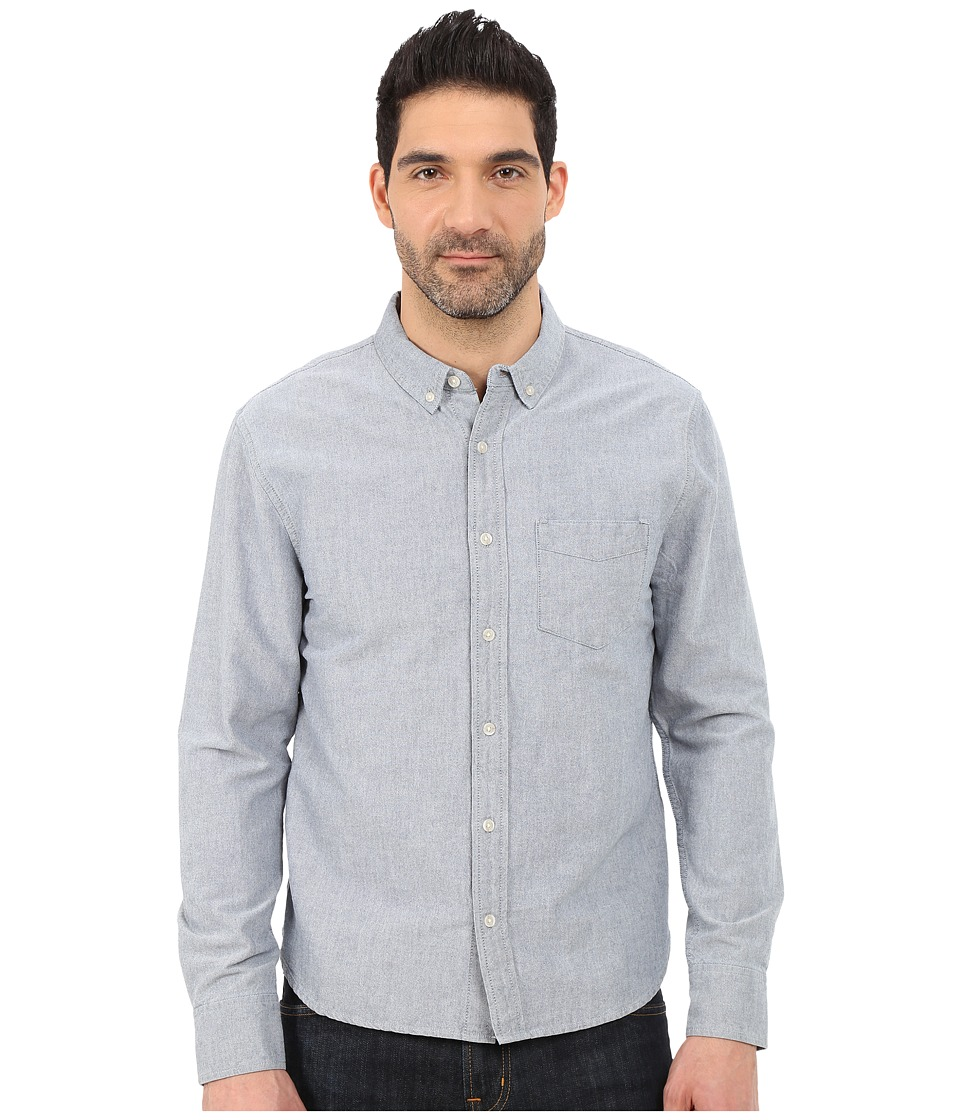Joe's Jeans - Oxford Woven Shirt (Oxford Blue) Men's Clothing
