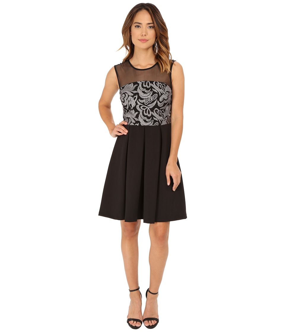 rsvp - Natalie Dress (Black/Gunmetal) Women's Dress