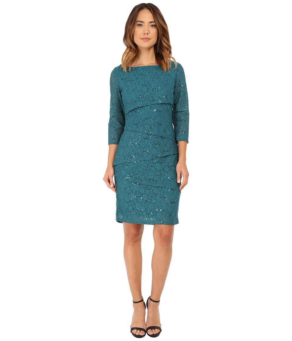 rsvp - Isabella Dress (Teal) Women's Dress