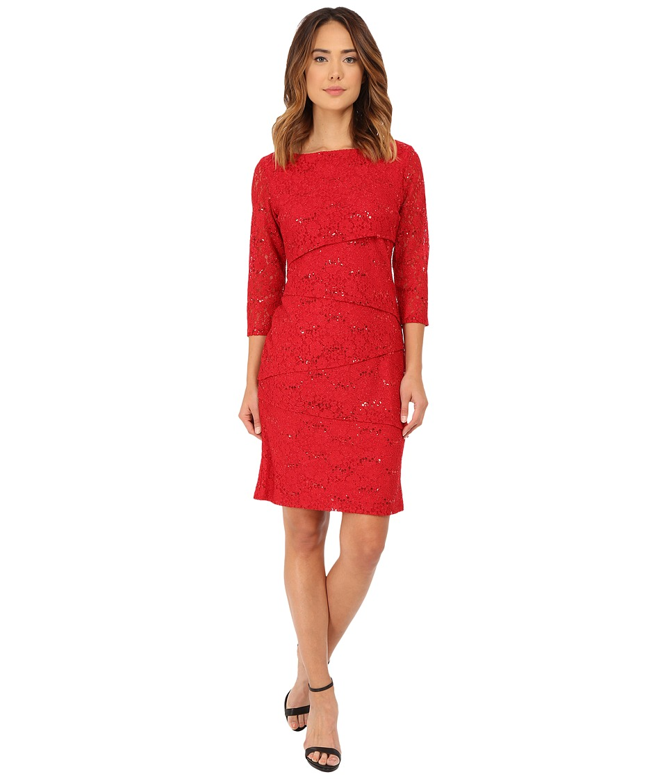 rsvp - Isabella Dress (Rich Red) Women's Dress