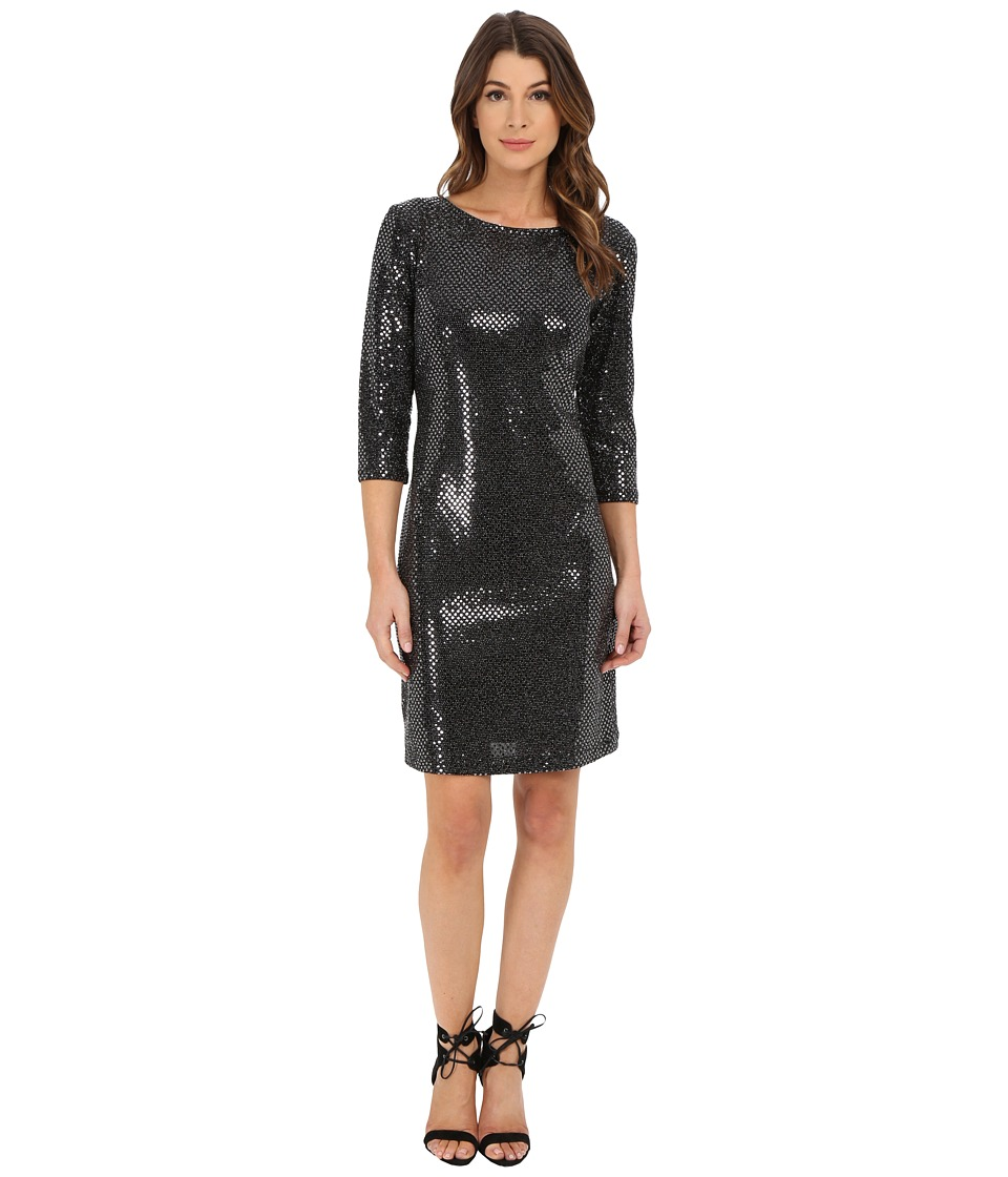 rsvp - Crystal Shift Dress (Black) Women's Dress