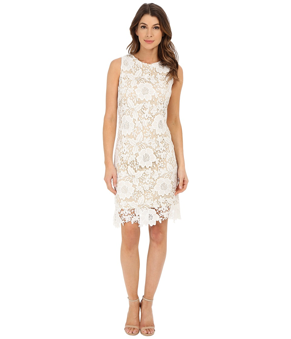 rsvp - Violet Dress (Ivory/Nude) Women's Dress