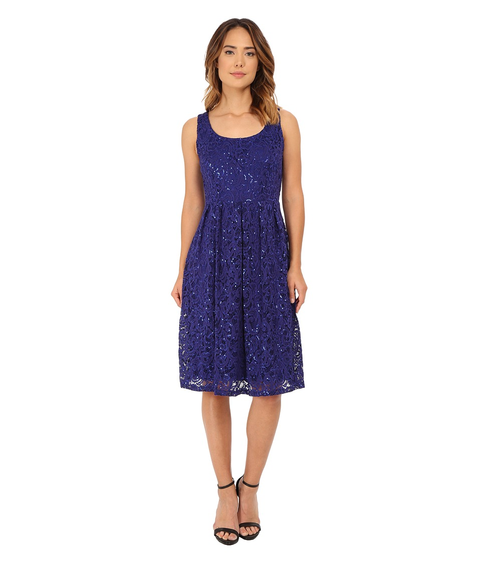 rsvp - Ellie Dress (Cobalt) Women's Dress